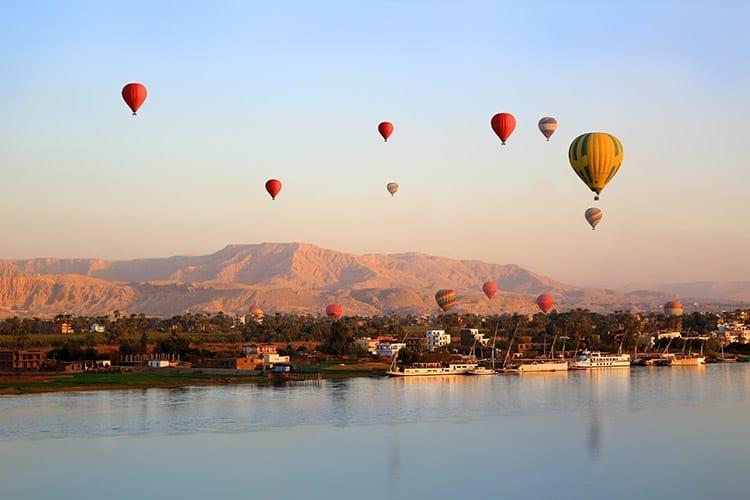 Ballonvaart, Luxor