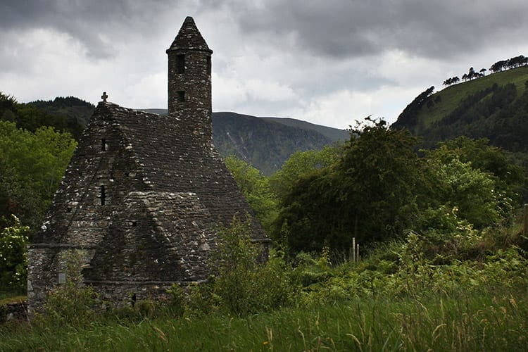 Glendalough klooster, Wicklow Mountains