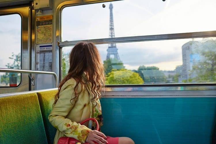 Metro in Parjis