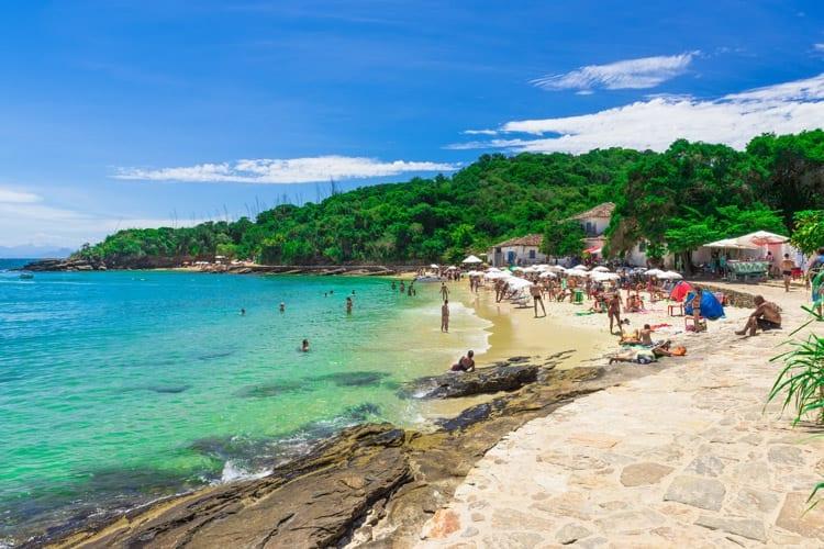 Brazilië, Buzios, Praia Azeda
