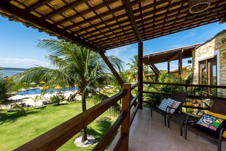 Brazilië, hotel Pipa Lagoa
