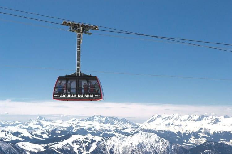 Frankrijk, Chamonix, Aiguille du midi