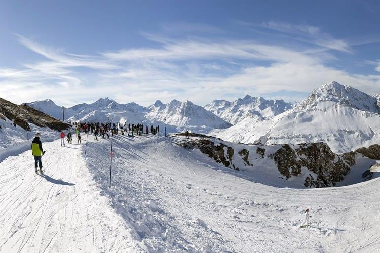 Frankrijk, Val Cenise, piste