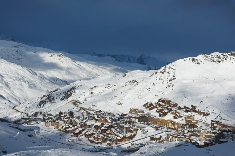 Frankrijk, Les Trois Vallées, Val Thorens