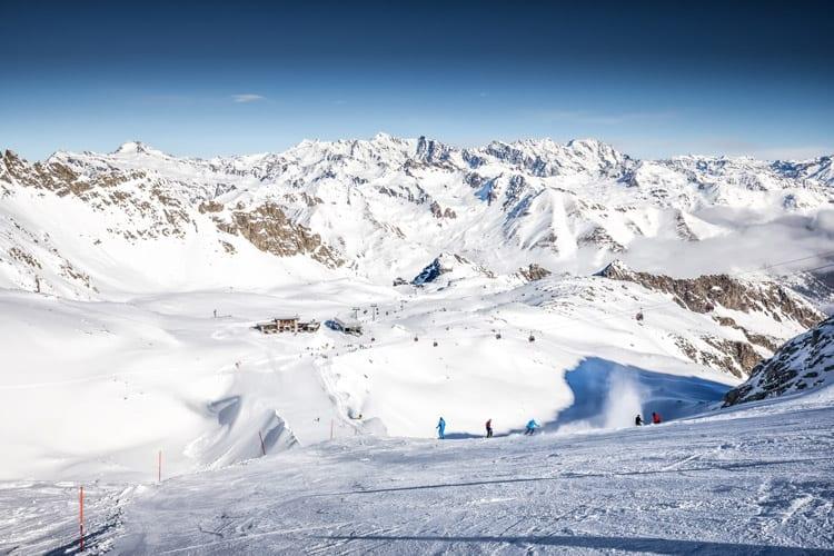 Italië, Val di Sole, Presena gletsjer
