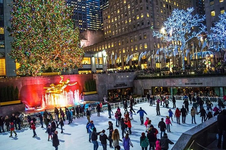 Stedentrip New York kerst