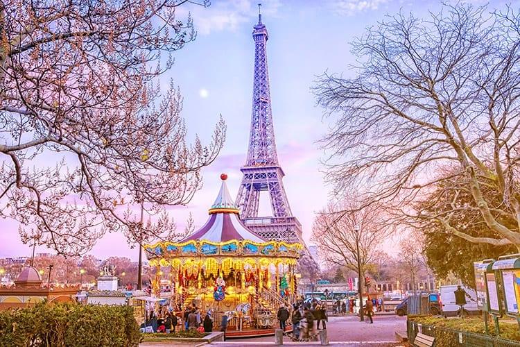 Stedentrip Parijs december