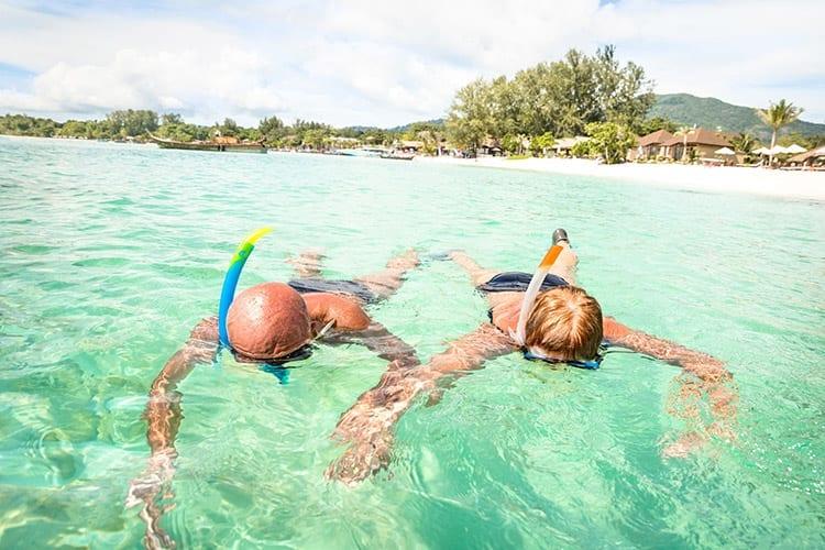 Snorkelen, Koh Lipe