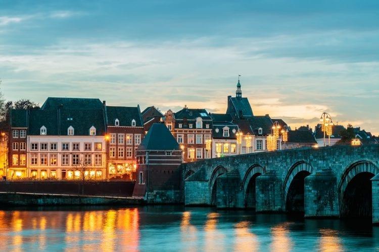 Maastricht, winter