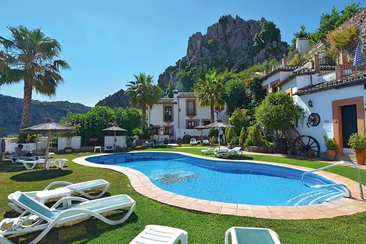 Andalusië, Montejaque, Casas de Montejaque
