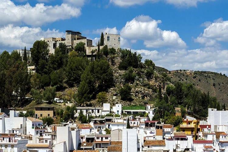 Andalusië, Monda, Castillo de Monda