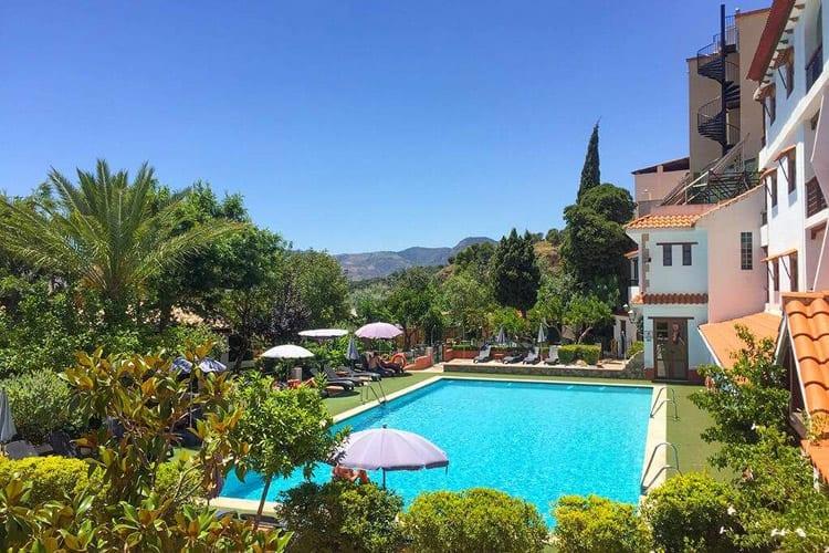 Andalusië, Lanjarón, Hotel Alcadima