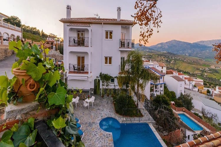 Andalusië, La Vinuela, Hotel Spa Las Orquideas
