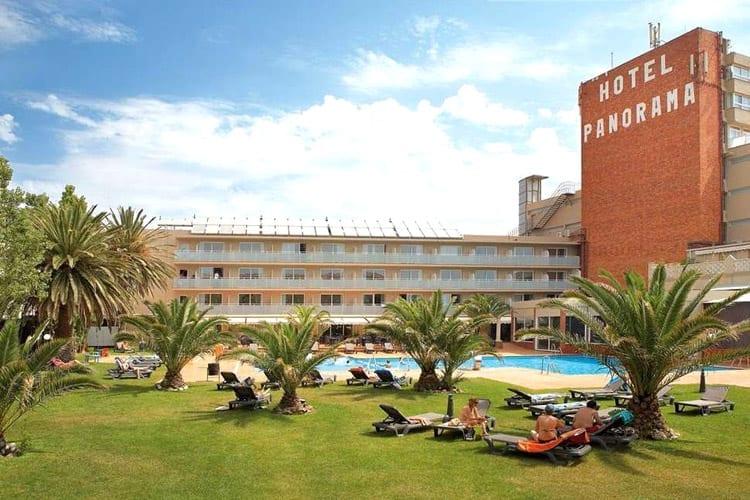 Spanje, Costa Brava, Hotel Panorama