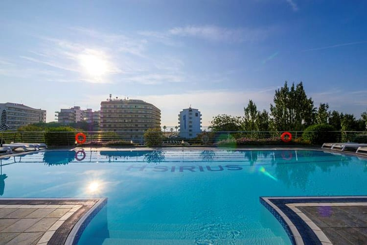 Spanje, Costa Brava, Santa Susanna, Hotel Sirius