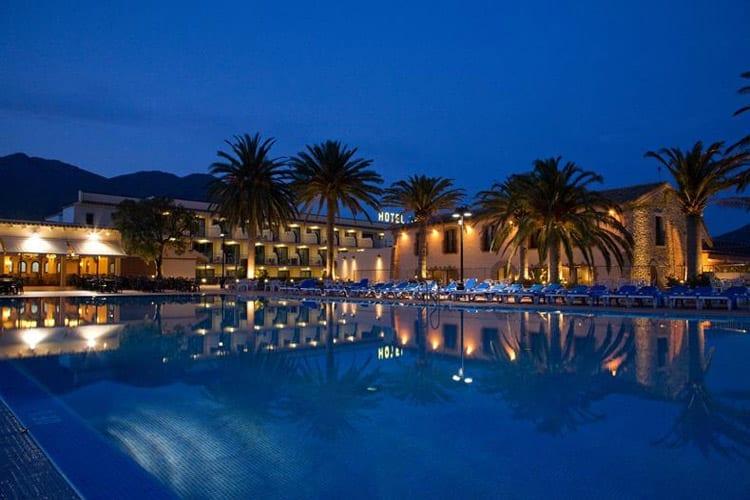 Spanje, Costa Brava, Hotel San Carlos