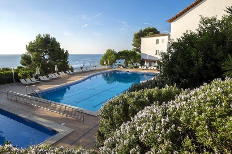Spanje, Costa Brava, Playa d'Aro, Park Hotel San Jorge