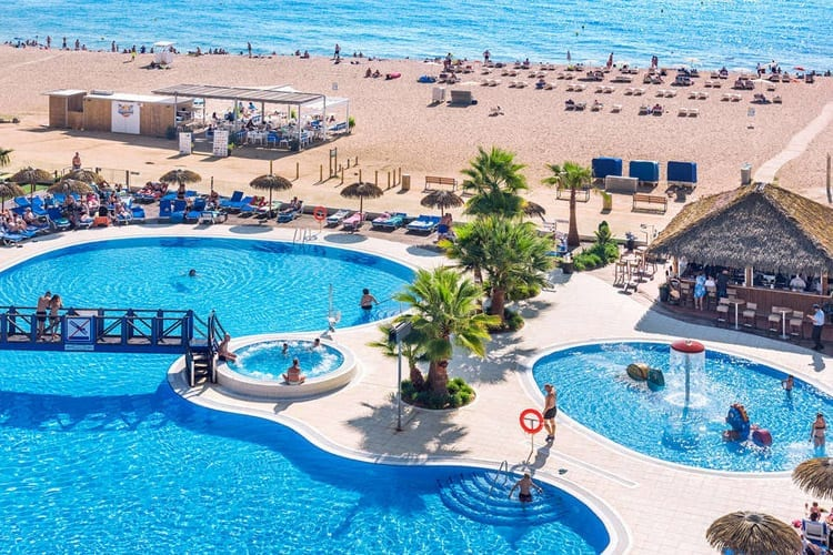 Spanje, Costa Brava, Santa Susanna, Tahiti Playa en Suites