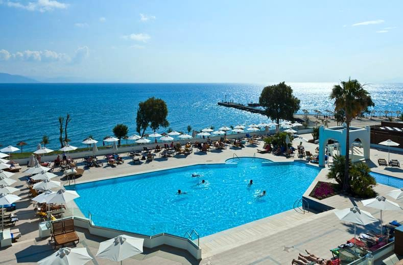 Psalidi, Hotel Blue Oceanis Beach