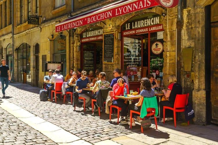 Frankrijk, Lyon, Restaurant