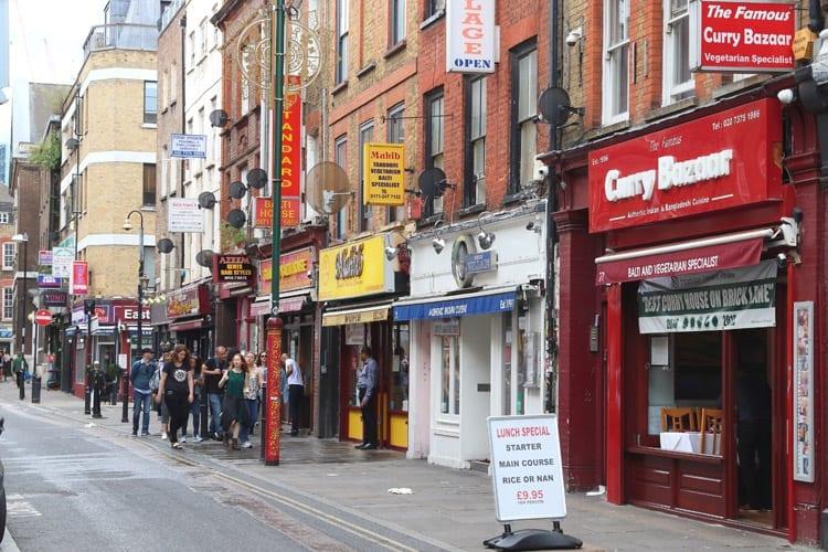 Londen, Brick Lane