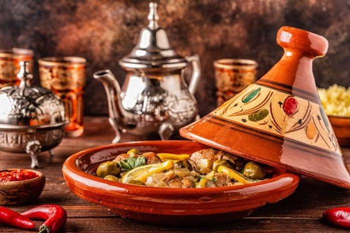 Marokko, Marrakech, Tajine