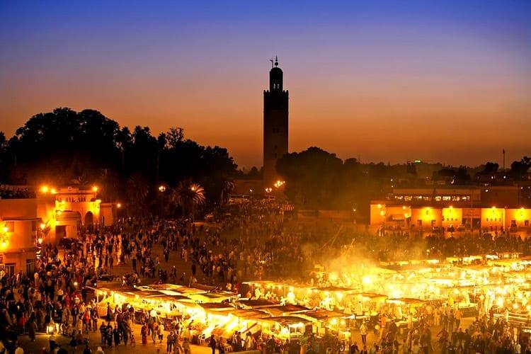 Marokko, Marrakech, Djemaa el Fna