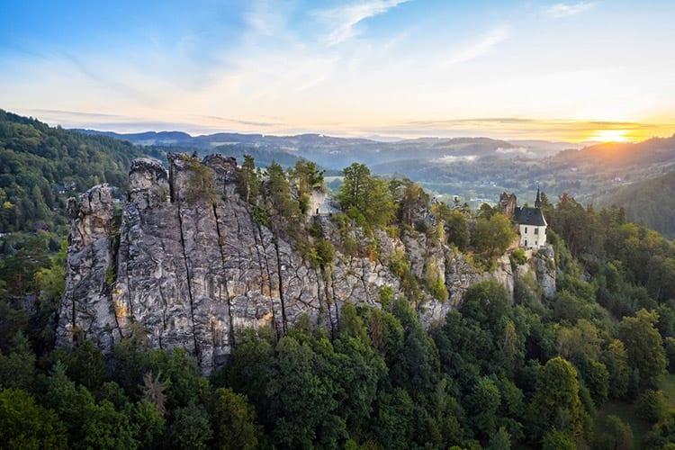 Vranov kasteel, Boheems Paradijs