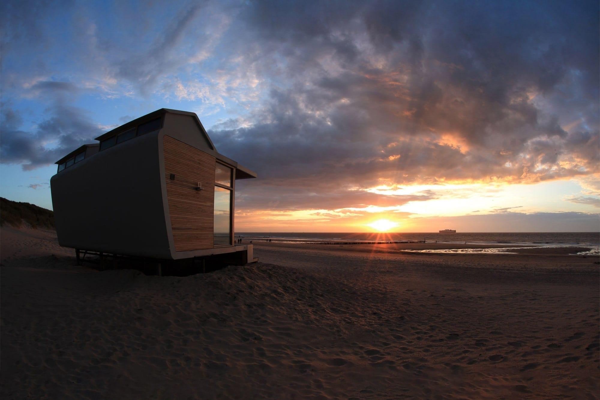 Overnachten aan zee in Nederland